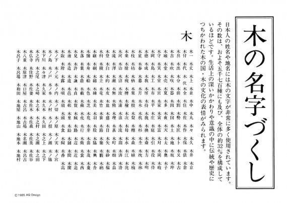 木の苗字−1-1